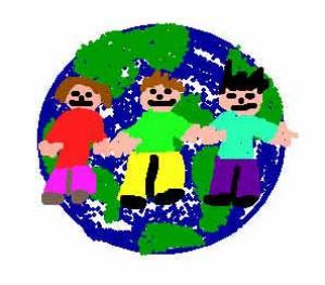 Le monde s'aime - Dessin - Dessins d'enfants pour la paix