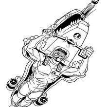 Coloriage de Action Man - Coloriage - Coloriage DESSINS ANIMES - Coloriage ACTION MAN