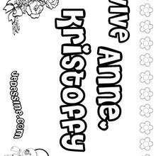 Anne-Kristoffy - Coloriage - Coloriage PRENOMS - Coloriage PRENOMS LETTRE A