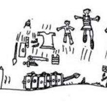 Dessin d'enfant : Asterix le Gaulois