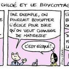Boycott - Lecture - BD pour enfant - Mots et thèmes d'actualité expliquées en BD. - A-B-C