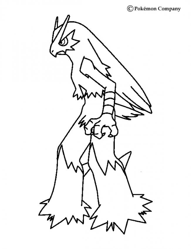 Coloriages bras gali de profil - Coloriage pokemon brasegali ...
