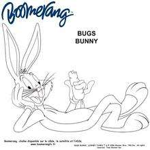 Coloriage : Bugs Bunny le Toon