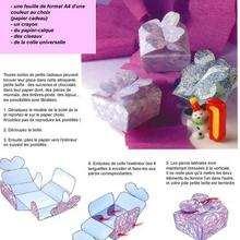 Carton plié - Activités - BRICOLAGE DECO - Pour emballer les cadeaux