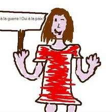 Charline de France - Dessin - Dessins ENFANT POUR LA PAIX
