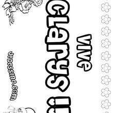 Clarys - Coloriage - Coloriage PRENOMS - Coloriage PRENOMS LETTRE C