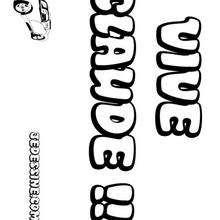 Claude - Coloriage - Coloriage PRENOMS - Coloriage PRENOMS LETTRE C