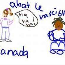 Cocotte du Canada - Dessin - Dessins ENFANT POUR LA PAIX