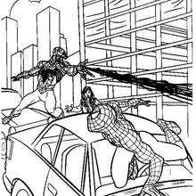 Coloriage : Attaque de Venom