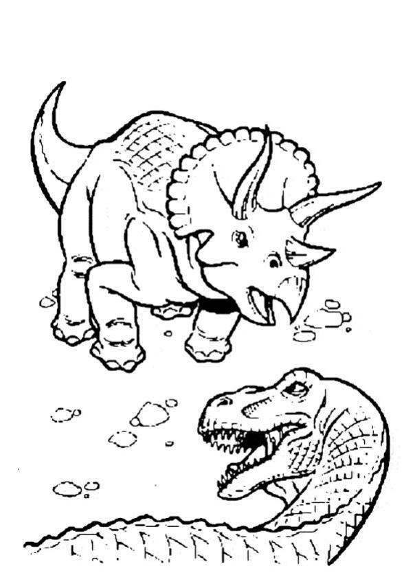 Coloriages Dinosaure Carnivore Fr Hellokids Com