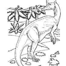 Coloriage : Corythosaure