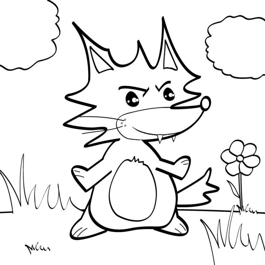 Image de renard a imprimer - Dessin renard ...