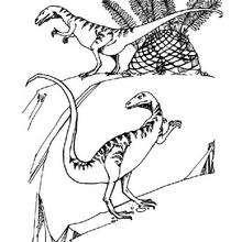Deux vélociraptors