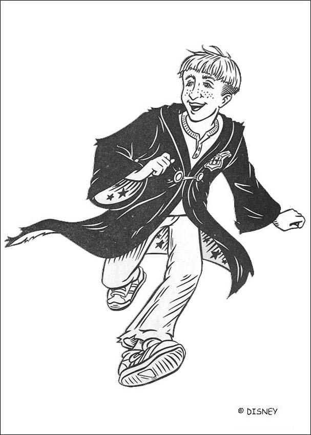Coloriages draco malfoy - Coloriage harry potter ...