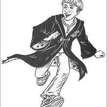 Coloriage Harry Potter : Draco Malfoy