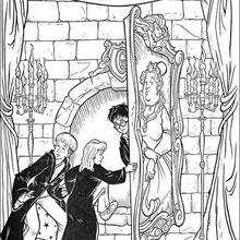 Coloriage Harry Potter : Passage secret