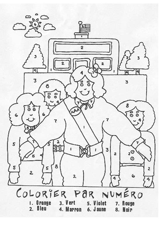 Coloriage Famille Magique.Coloriages Lire Le Nom Des Couleurs Fr Hellokids Com