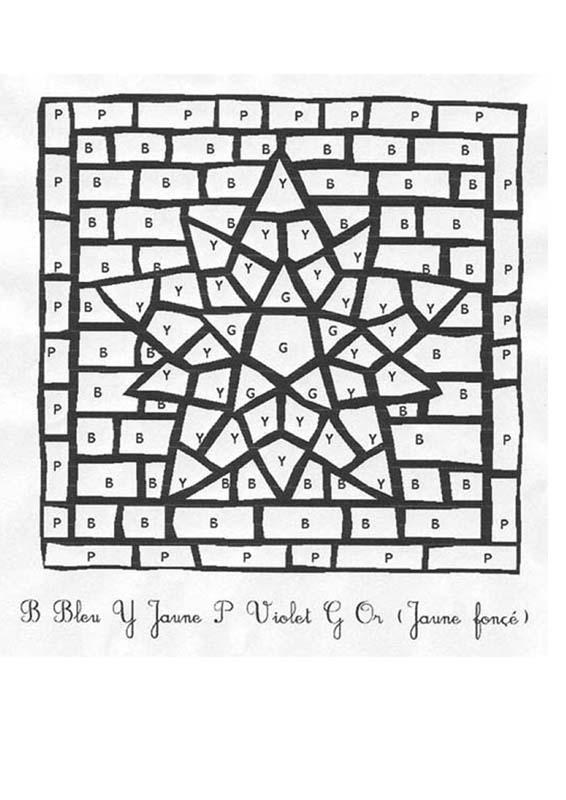 Coloriage magique : Lire les lettres