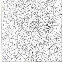 Coloriage magique : Moyenne section de Maternelle