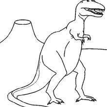 Coloriage : Tyrannosaurus Rex