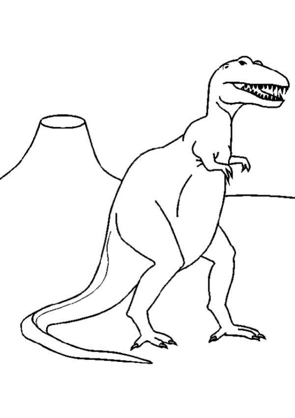 Coloriages De Dinosaures Coloriages Coloriage à Imprimer Gratuit