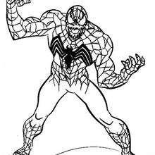 Coloriage : Venom
