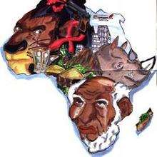 Congo - Dessin - Dessin PAYS - Dessin AFRIQUE - Dessin CONGO
