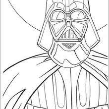 Coloriage Star Wars : Dark Vador