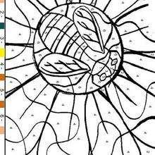 Dessin N°17 - Jeux - Jeux de coloriage magique
