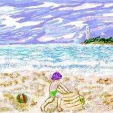 Eau et sable