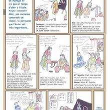 Ecole - Lecture - BD pour enfant - Mots et thèmes d'actualité expliquées en BD. - D-E-F