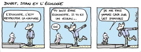 Ecologie - Lecture - Bande dessinée - D-E-F