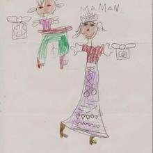 Dessin d'enfant : Elsa Rodriguez de Zuera (Espagne)
