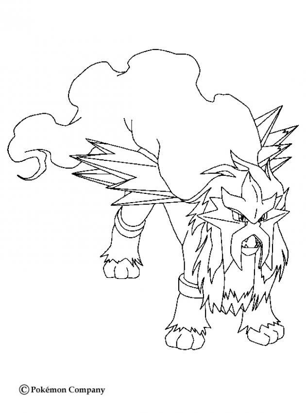 Coloriage Yveltal Pokemon Legendaire Dessin