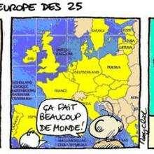 Planche de BD : Europe