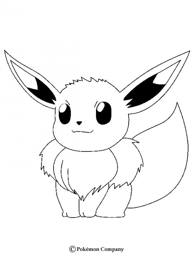 Comment dessiner evoli - Dessiner un pokemon ...
