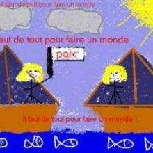 Fanny de France - Dessin - Dessins ENFANT POUR LA PAIX