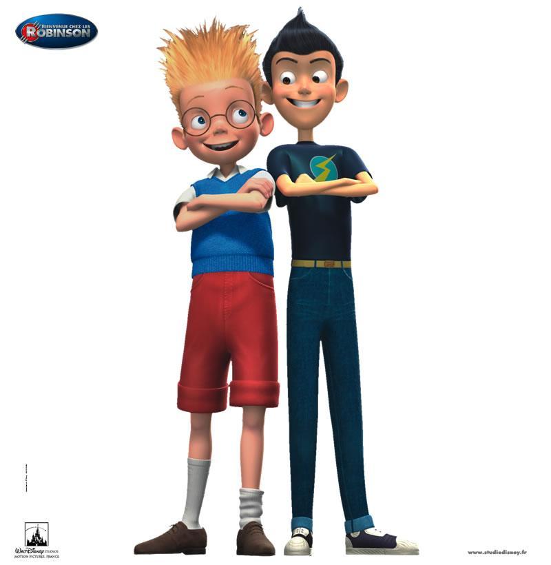 Fiche personnage : Wilbur et Lewis