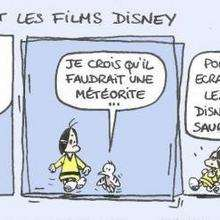 Planche de BD : Films Disney