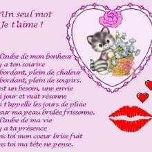je t aime - Lecture - POEMES pour enfants - Les poésies des membres de Jedessine - Poésies d'Amour (par les membres de Jedessine)