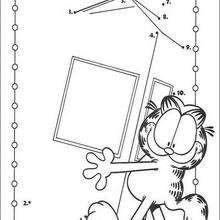 Garfield N°3 - Jeux - Jeux de Points à relier - Points à relier Animaux moyens