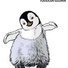 Coloriage HAPPY FEET de Gloria enfant