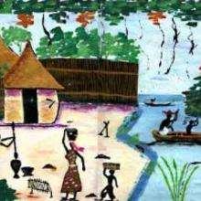 Guinée - Dessin - Dessin PAYS - Dessin AFRIQUE - Dessin GUINEE