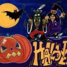 Dessin d'enfant : Halloween (par Sophie)