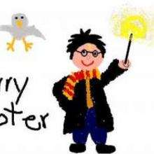 Dessin d'enfant : Harry Potter