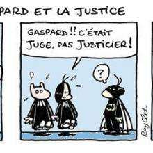 Justice - Lecture - BD pour enfant - Mots et thèmes d'actualité expliquées en BD. - G-H-I-J-K