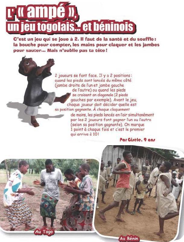 L'Ampé, un jeu du Togo et du Bénin - Jeux - Jeux à faire entre amis