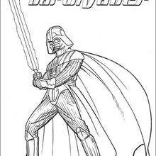 Coloriages star wars - Dark vador coloriage ...