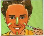 maquillage enfant maquillage d 39 indien. Black Bedroom Furniture Sets. Home Design Ideas