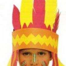 Maquillage d'indien